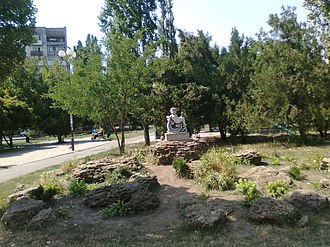 Chornomorsk - Park in Chornomorsk