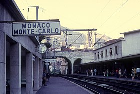 Image illustrative de l'article Gare de Monaco