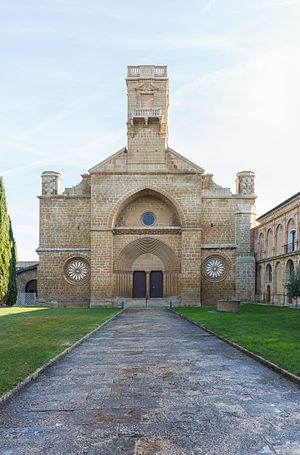 Santa María de la Oliva - Image: Monasterio de la Oliva, Carcastillo, Navarra, España, 2015 01 06, DD 01