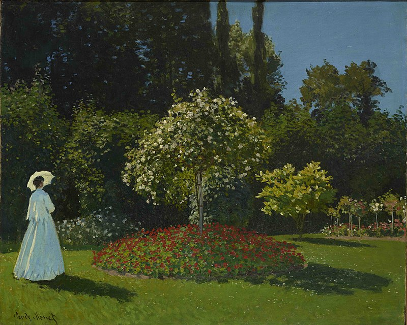 File:Monet-Lady in the Garden.jpg