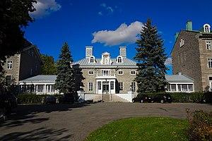 Villa Maria (school) - 'Monklands', the central building of Villa Maria, built in 1804 for Sir James Monk