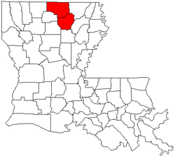 Maps of Monroe, Louisiana metropolitan area