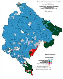 digitalna mapa crne gore Religija u Crnoj Gori – Wikipedija digitalna mapa crne gore