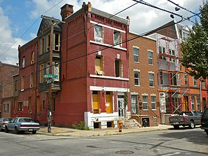 Lower North Philadelphia - Lower North Philadelphia at Montgomery Avenue and 18th Street