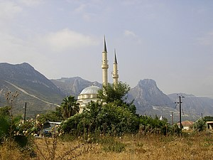 Islam in Cyprus - Image: Mosque in Kyrenia