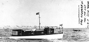 USS Avis (SP-382) - Image: Motorboat Avis