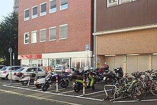 Motorradparkplatz Schweinfurt Johannisgasse