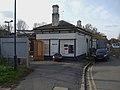 Mottingham station northern entrance.JPG