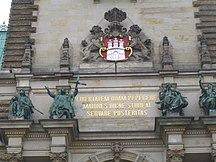Amburgo-Storia-Motto di Amburgo