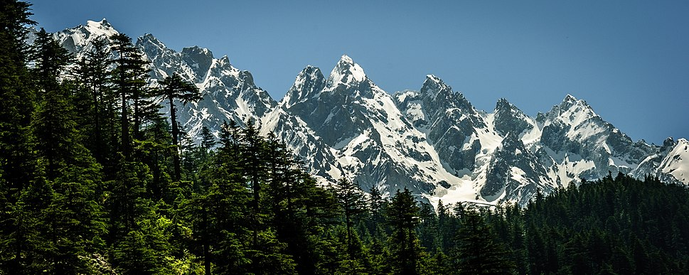 Mountains in Swat Vally Pakistan