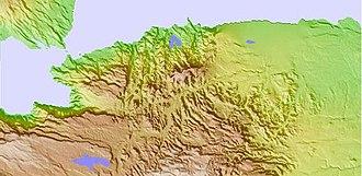 Arta Mountains - Image: Mountainsof Arta Range