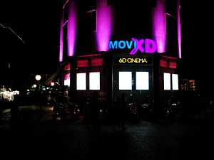 Cinema of Cyprus - Movie XD 6D cinema in Nicosia
