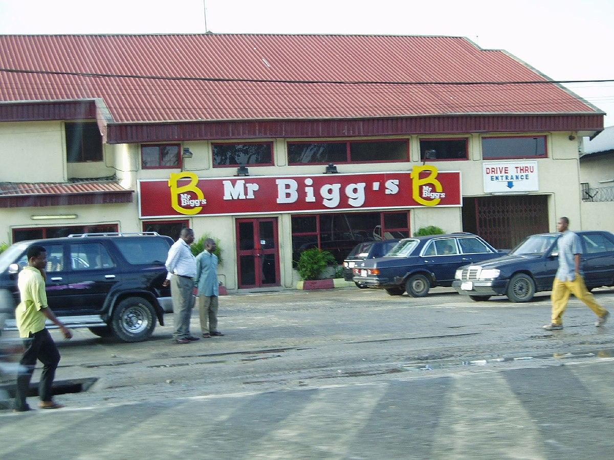 Mr Biggs Food Price List Nigeria