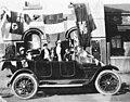 Mrs Rose Splatt and family celebrating the Armistice, Melbourne, 1919 - unknown photographer (2984857293).jpg