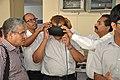 Muhammad Muhiuddin Khan Experiencing Virtual Reality - NMST Delegates Visit NCSM - Kolkata 2017-06-19 2188.JPG