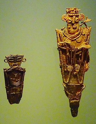Tunjo - Tunjos in the Museo del Oro, Bogotá