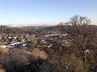 Murphys, California - Murphys in Winter