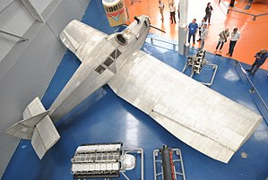 Junkers F.13 - The Junkers F.13 viewed from above at the Musée de l'air et de l'espace