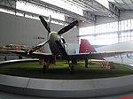 Museu TAM - Supermarine Spitfire Mk IX (1943). O Spitfire é um dos mais famosos aviões de combate da Segunda Guerra Mundial. A versão Mk IX foi fabricada com um novo motor Rolls-Royce Merlin V12, que g - panoramio.jpg