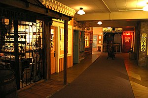 "Museum of Idaho - The ""Eagle Rock, USA"" exhibit represents ten local businesses from the late 19th century."