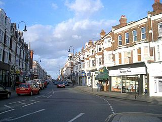 Muswell Hill suburb of north London, mostly in the London Borough of Haringey