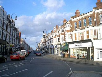 Muswell Hill - Image: Muswell hill broadway