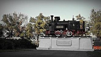 Reșița Steam Locomotive Museum - Image: Muzeul de locomotive cu abur din Resita (1)