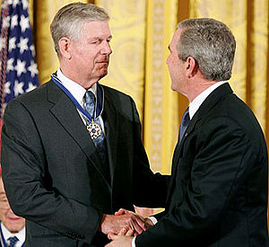 Richard Myers - Myers receiving the Presidential Medal of Freedom.