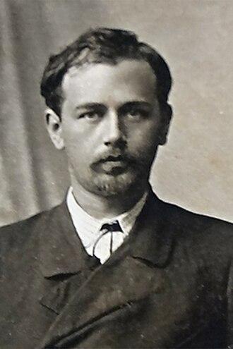 Mykola Leontovych - Mykola Leontovych as a young man