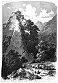 Nördliche Ansicht von Schloß Tirol bei Meran. Originalzeichnung von Carl Heyn (1834–1906).jpg