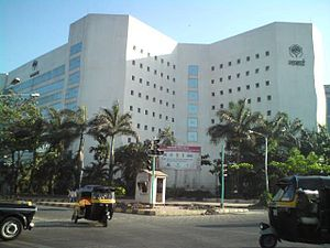 Microcredit - Mumbai Headquarters of the National Bank for Agriculture and Rural Development of India, which on-lends funds to banks providing microcredit.