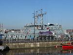 NATO ships at Liverpool Cruise Terminal - 2013-04-06 (12).JPG