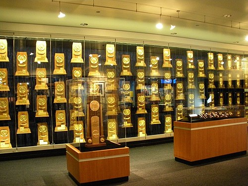 NCAA National Championship trophies, rings, watches won by UCLA teams NCAA titles.jpg