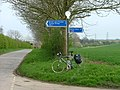 NCN1 signpost - geograph.org.uk - 1747180.jpg