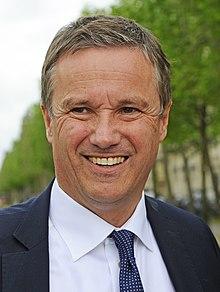 Nicolas Dupont Aignan éléction présidentielle 2022, candidat