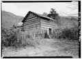 NORTH (rear, left-hand side) AND WEST ELEVATIONS - Walker Family Farm, Big House, Gatlinburg, Sevier County, TN HABS TENN,78-GAT,1A-2.tif