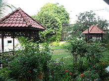Charming Tropical Garden In The Faculty Of Science, National University Of Singapore  In Singapore
