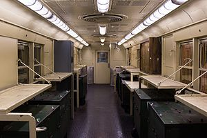 Money train - Interior of the same car