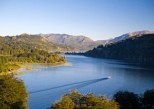 Nahuel Huapi Lake - Lake Nahuel Huapi. The surrounding area became Argentina's first National Park in 1903