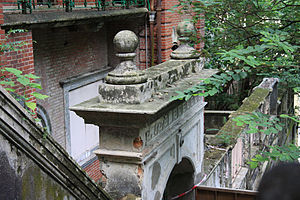 Nam Koo Terrace - Classical Revival architectural features.