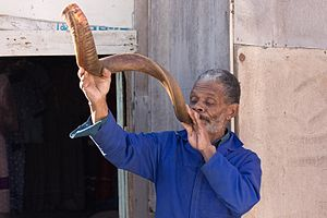 Nama people - A Nama man of Namibia.