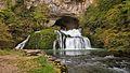 Nans-Sous-Sainte-Anne, cascade de la source du Lison.jpg