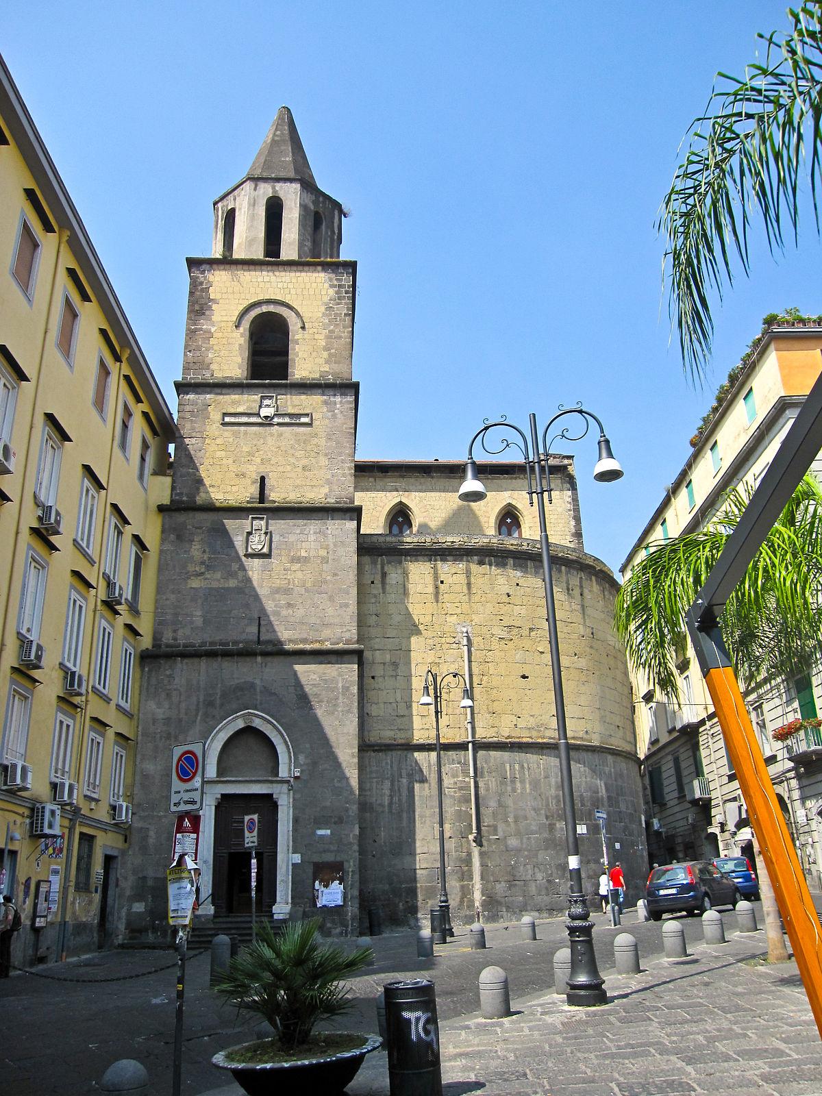 chiesa di san pietro a majella - wikipedia - Soggiorno Di Giotto A Napoli 2