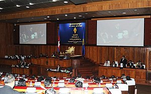 National Assembly of Cambodia - Parliament session in 2013