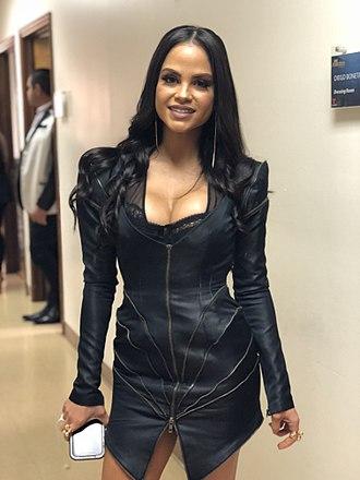 Natti Natasha - Image: Natti Natasha Backstage Don Francisco Te Invita
