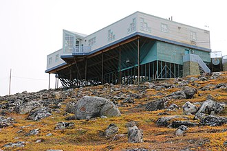 Pond Inlet - Image: Nattinnak Visitor Centre and Library