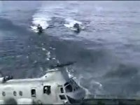 File:Navy CH-46 Helicopter Crash Incident USNS Pecos Missed Landing.ogv