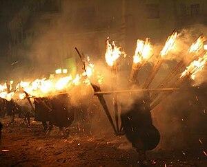 Agnone - The 'Ndocciata torchlight parade