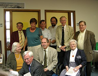 Ingrid van Houten-Groeneveld - Ingrid van Houten-Groeneveld (sitting, right)