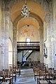 Nef depuis le choeur de l'église Sainte-Croix du Bouyssou.jpg